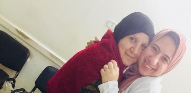 """""""شادية"""" مع ابنتها"""
