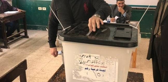 إدوارد يدلي بصوته في الانتخابات: حبيت أكون من أوائل الناس اللي نزلت