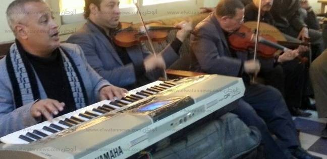 ورشة لتعليم الموسيقى والغناء بقصر ثقافة برج العرب بالإسكندرية
