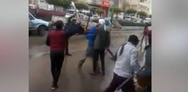 إصابة 4 في مشاجرة بين عائلتين بقرية كفر عبد الرحمن بزفتى