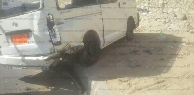 إصابة 10 أشخاص في حادث تصادم بالإسماعيلية