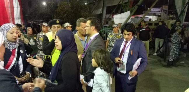 وفد مراقبة الجامعة العربية يصل لجنة المدرسة التوفيقية في روض الفرج