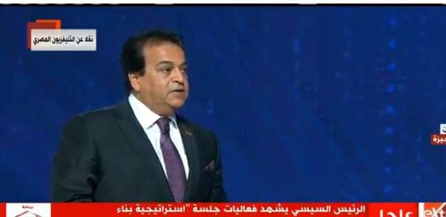 عبد الغفار: نحن في مرحلة بناء الأمة ولدينا رؤية لتشكيل وجدان الطلاب