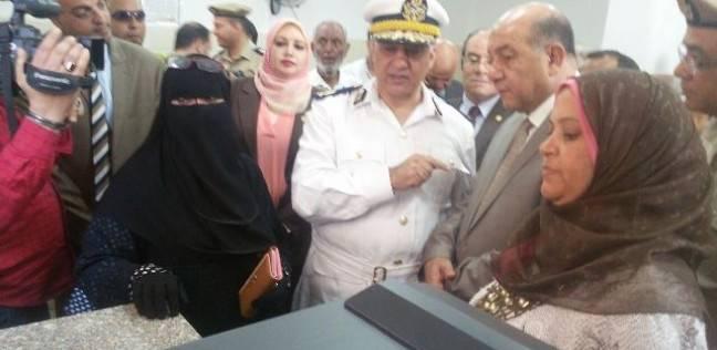مدير أمن القليوبية يفتتح مقر السجل المدني الجديد بسنديون