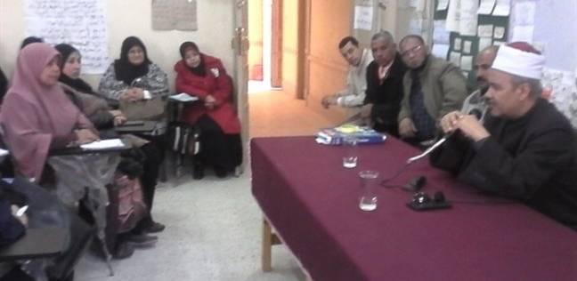 رئيس المنيا الأزهرية يشهد فعاليات تدريب معلمي المرحلة الابتدائية ببرنا