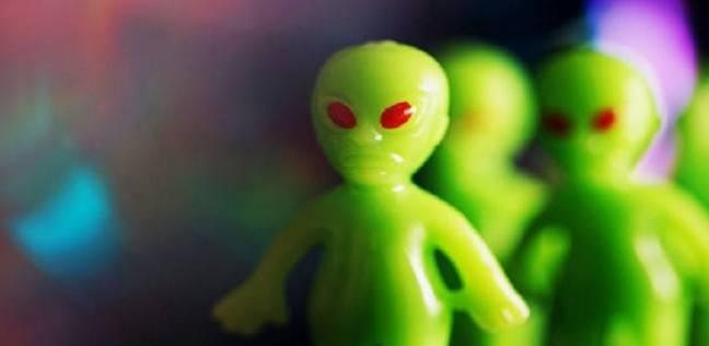 """كائن """"فضائي"""" غريب من الخيال العلمي"""