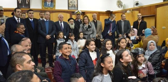 """الغضبان: شعرنا بالدفء رغم برودة الجو في افتتاح مسجد وكنيسة """"الإدارية"""""""