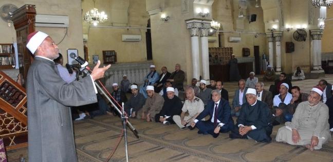 محافظ المنيا يشهد احتفال الأوقاف بليلة النصف من شعبان