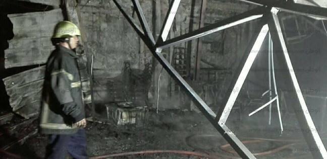 إخماد حريق بأحد مصانع مدينة السادات دون إصابات بشرية