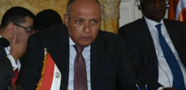 """""""شكري"""" يغادر القاهرة للمشاركة في الاجتماعات الوزارية التحضيرية للقمة العربية بالأردن"""