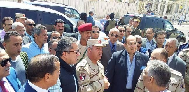 كامل الوزير وخالد العناني يتفقدان متحف أثار سوهاج تمهيدا لافتتاحه