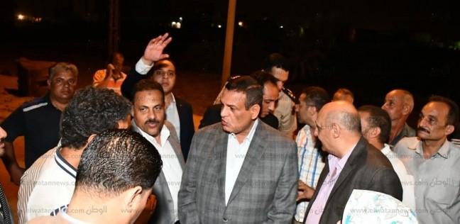 """محافظ البحيرة يطالب بإنهاء رصف طريق """"دمنهور - دسوق"""" خلال أسبوع"""