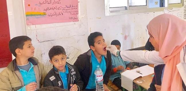 انطلاق الحملة القومية للقضاء على الطفيليات المعوية بمدارس جنوب سيناء