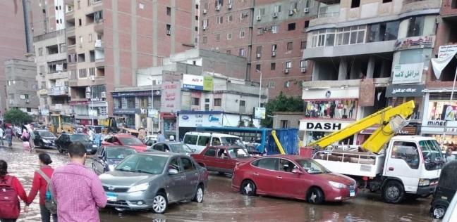 شلل مروري في القاهرة والجيزة.. و المرور  تنصح بالابتعاد عن الكثافات - حوادث -