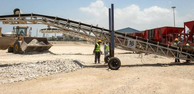 رصيد القمح في مخازن القطاع الخاص بميناء دمياط 34235 طنا