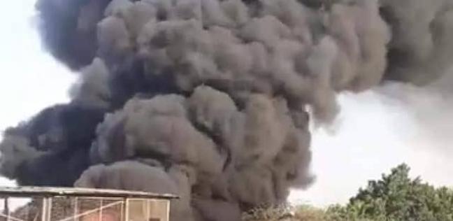 السيطرة على حريق نشب بمصنع أقطان في الخانكة دون خسائر بالأرواح