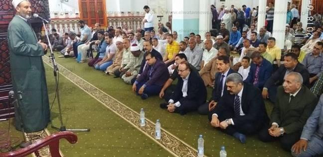 محافظة بني سويف تحتفل بذكرى فتح مكة بمسجد عمر بن عبد العزيز