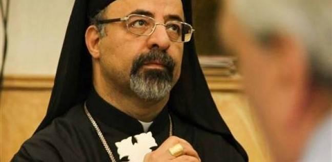 بطريرك الكاثوليك بالإسكندرية يصوت في الانتخابات: بناء الوطن أمانة