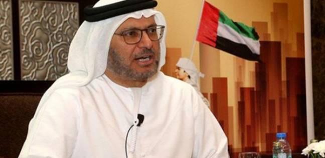 """وزير خارجية الإمارات: جهود مصر لتحقيق المصالحة الفلسطينية """"عمل جبار"""""""