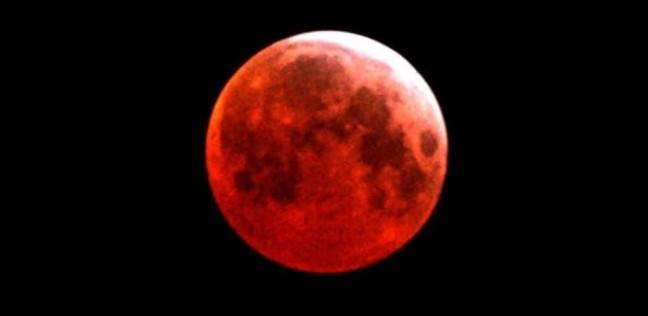 خسوف القمر - صورة أرشيفية