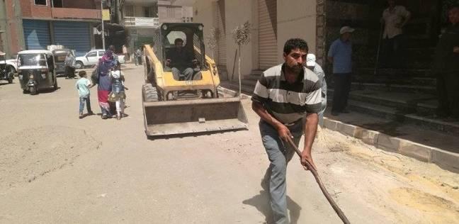 """رئيس """"سمنود"""" يطالب بتدشين حملة نظافة ورفع أكوام القمامة بالغربية"""