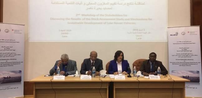"""""""تشغيل الشباب"""" بأسوان يستعرض مصادر الثروة السمكية ببحيرة ناصر"""