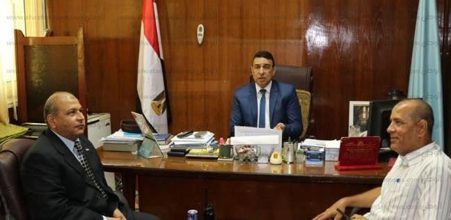 بالصور| السكرتير العام المساعد لكفر الشيخ يستقبل المهنئين بعيد الأضحى