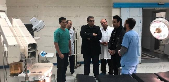 """فريق طبي من جامعة عين شمس يزور """"رأس سدر"""" لرفع كفاءة الخدمات الطبية"""