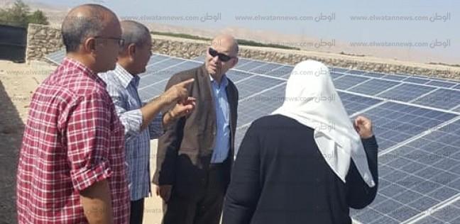 بالصور| رئيس قطاع الموارد المائية والري يتفقد آبار جنوب سيناء