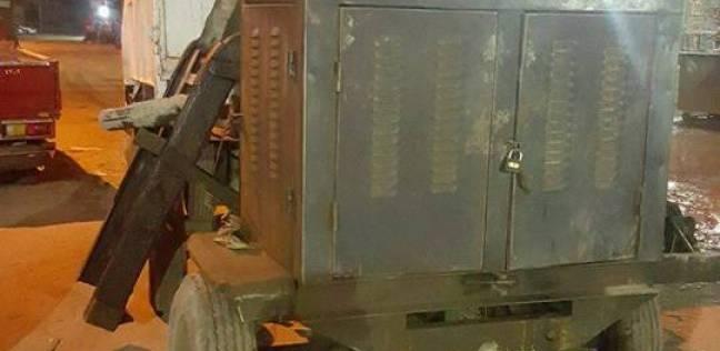 شرطة المرافق تشن حملة بحي العمرانية