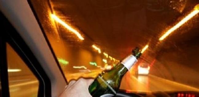 قيادة السيارات تحت تأثير المخدرات