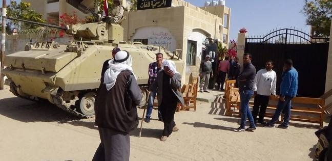 أهالي سيناء يتوافدون على لجان الاقتراع في ثالث أيام انتخابات الرئاسة