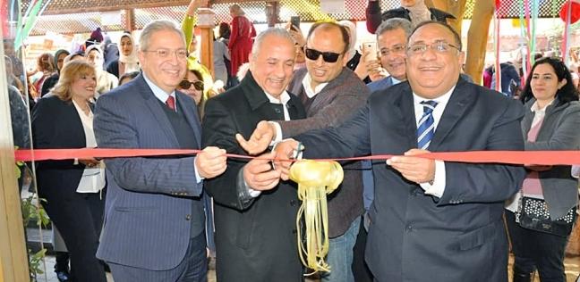 بالصور|رئيس جامعة حلوان يفتتح فعاليات مهرجان الزمالك الثالث للفنون