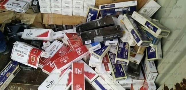 """""""أمن الاسكندرية"""" يحبط جلب مليوني علبة سجائر غير مصرح بتداولها"""