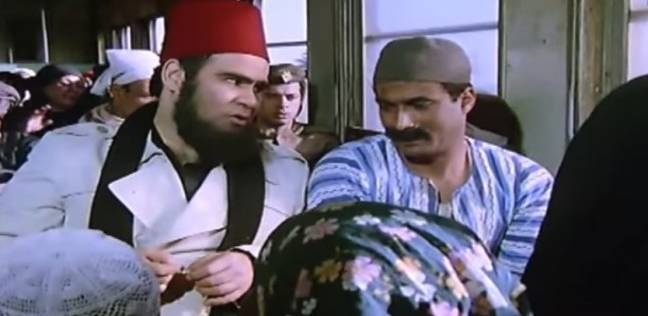 """سيد زيان مع أحمد زكي في """"البيه البواب"""""""