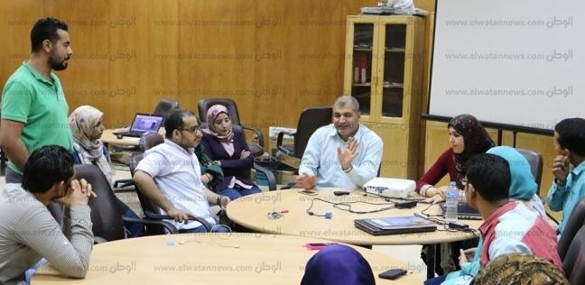 عرض أولى البروفات لليوم الختامي لنموذج محاكاة الجامعة المصرية