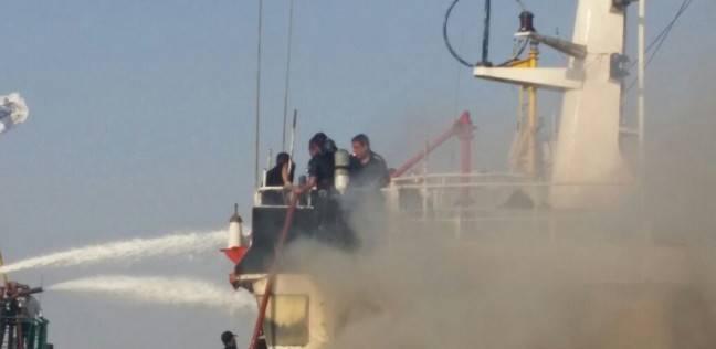 نيابة السويس تبدأ التحقيقات في حادث حريق معون البترول ندي 2