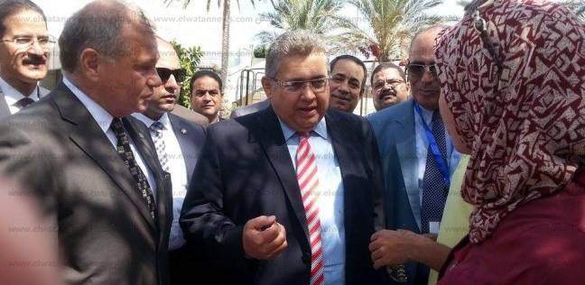 وزير التعليم العالي يفتتح قسم الطوارئ الجديد بمستشفى الأميري في الإسكندرية