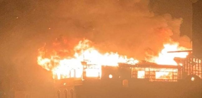 اشتعال حريق في منزل بدمياط.. والأهالي: البرق ضرب البيت