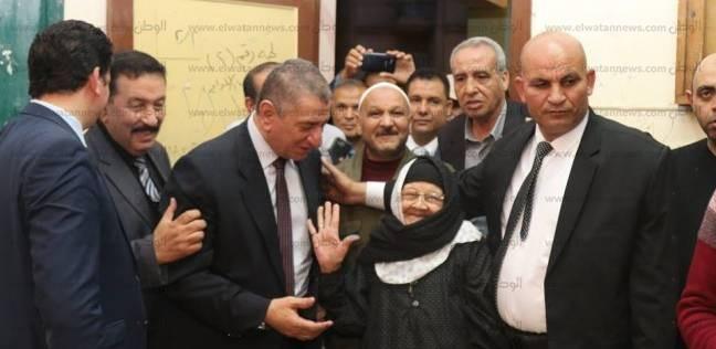 محافظ كفر الشيخ يتفقد لجان سيدي سالم قبل غلق باب التصويت