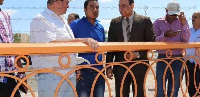 بالصور| السكرتير العام المساعد بكفر الشيخ يتفقد كورنيش بحيرة البرلس