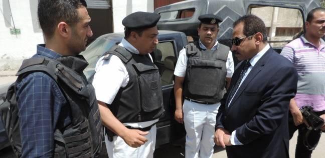 مدير أمن الإسكندرية يتفقد تأمين المدارس وكنترول الثانوية العامة