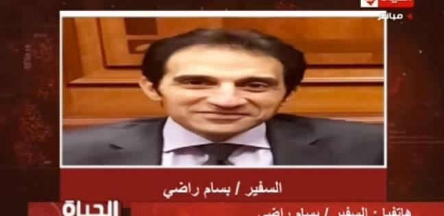 بسام راضي: مظاهر الانتخابات رسالة تثبث للعالم استمرار مسيرة البناء