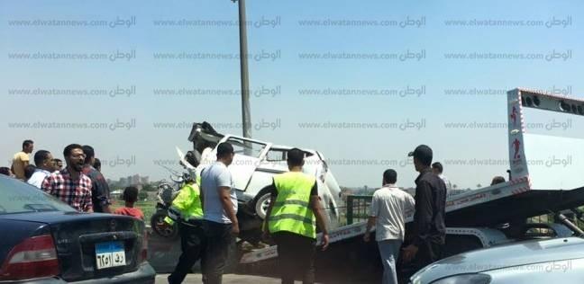 """إصابة 10 في حادث تصادم على طريق """"العاشر من رمضان - الإسماعيلية"""""""