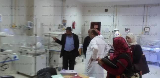 مدير الرعاية العاجلة بالشرقية يتفقد مستشفى الحسينية المركزي
