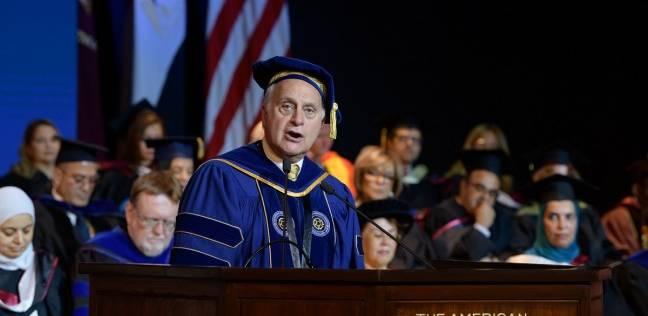 تخريج دفعات جديدة للبكالوريوس والدراسات العليا بالجامعة الأمريكية