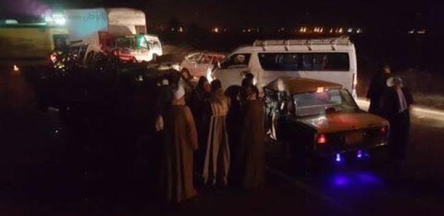 مصدر أمني: اصطدام أتوبيس يقل سائحين بعمود إنارة في الأقصر