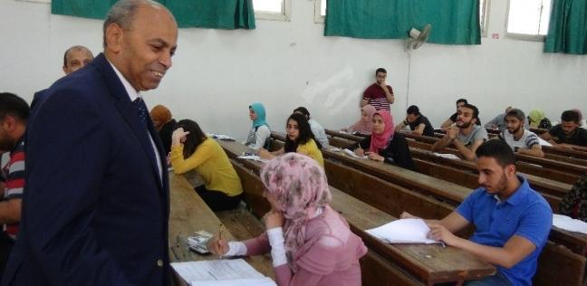 انطلاق امتحانات الفرق النهائية بكليات جامعة المنيا