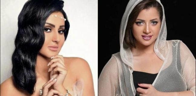 منى فاروق وشيما الحاج تتخفيان في الحجاب للهروب من كاميرات الصحفيين