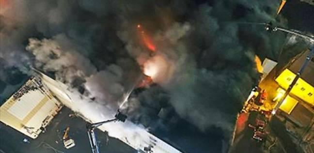 عاجل| حريق ضخم وسط لندن وأكثر من 100 عربة إطفاء لإخماد الحريق